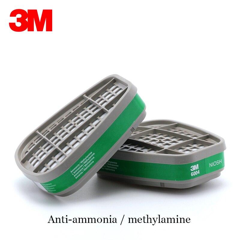 3 M 6200 + 6004 réutilisable demi masque respiratoire ammoniaque méthylamine cartouche de vapeur organique NIOSH & LA Standard LT048 - 6