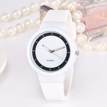 New Fashion Jelly Children Watches Cute Student Girl Rubber