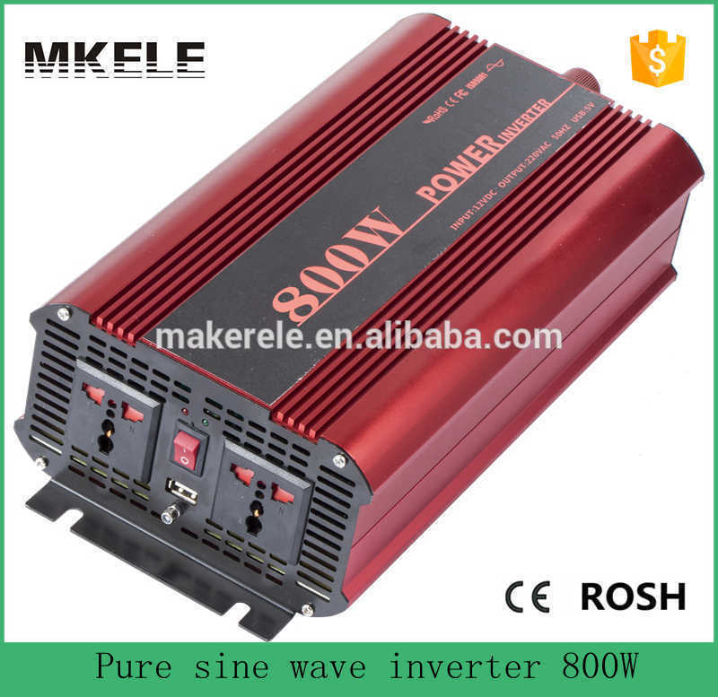цена на MKP800-241R low price off grid 800w power inverter pure sine 24vdc to 120vac power inverter for house using with usb 5v outlet