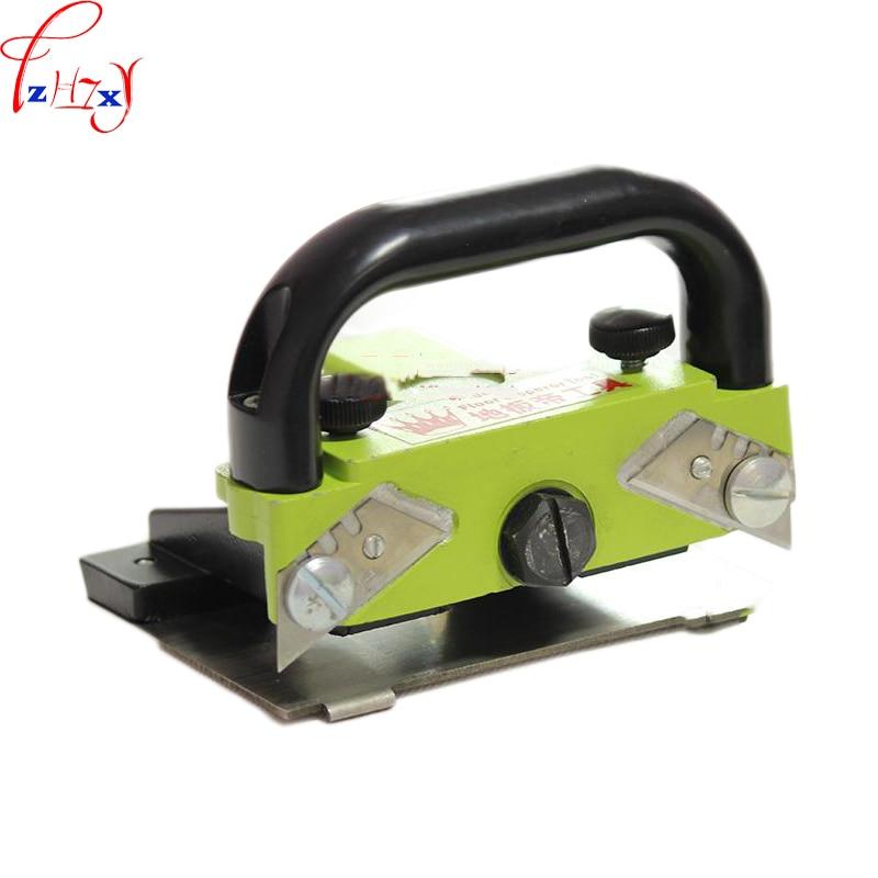 Handheld seamless push knife PVC plastic floor construction tools plastic floor joint rail guide push knife цена