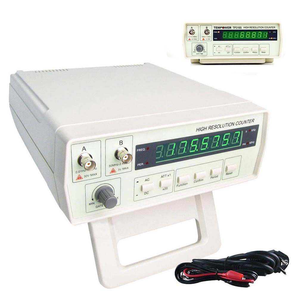 VC3165 Frequency Meter Counter cymometer antenna analyzer0.01-2.4GHz RF Meter frequency meter counter cymometer antenna analyzer radio new 100
