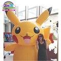 Um dos melhores brinquedos infláveis sobre pokemon pikachu inflável