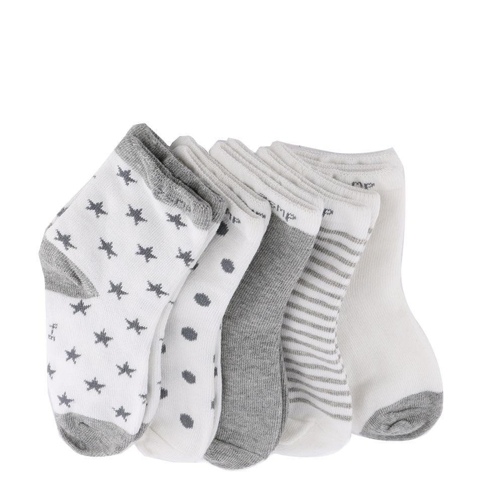 1 Pairs Toddler Baby Kids Girls Boys Cotton Cartoon Letter Socks Lisin Creative Socks