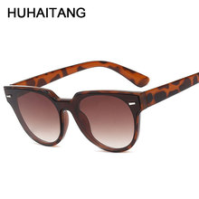 HUHAITANG Luxury Classic Siamese Sunglasses Mens Vintage Rivet Women Sun Glasses For Men Brand Designer Quality Sunglass Womens