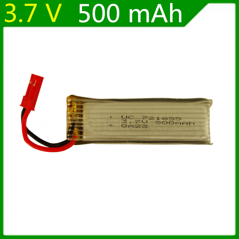 3.7V 500mah lipo battery For Remote control Helicopters Drone 3.7V lithium battery <font><b>721855</b></font> 10pcs/lot image