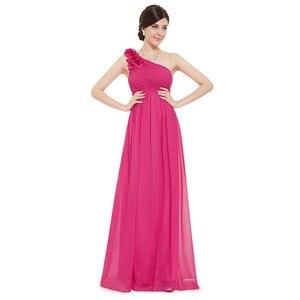 Image 4 - Plusขนาดเจ้าสาวสีม่วงชุดยาว 2020 Elegant Burgundyชีฟองไหล่งานแต่งงานชุดเดรสสำหรับผู้หญิง