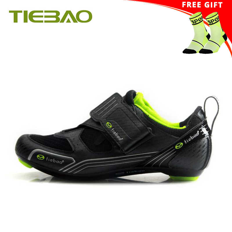 Tiebao cycling shoes road sapatilha ciclismo 2019 men women superstar outdoor Triathlon shoes Athletic cycling riding sneakers