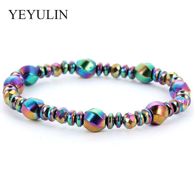 Natural Stone Rainbow Color...