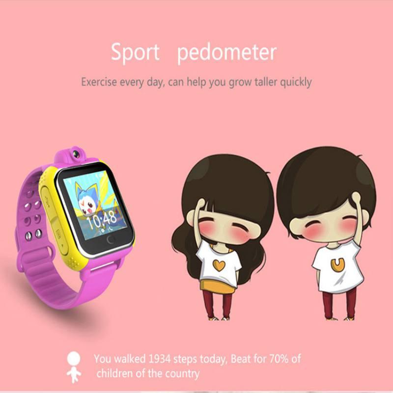 """מזגנים 3G Smart שעונים מצלמה מרחוק GPS LBS WIFI מיקום שילדים צופים GPS 1.54 """""""" מסך מגע חכם Tracker SOS עבור טלפון אנדרואיד IOS (4)"""