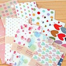 5pcs/lot Korean Creative Envelope Small Fresh Romantic College Wind Cartoon Pattern