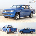 CAIPO Brand New 1/30 Scale Germany AMAROK Pickup Sound&Light Diecast Metal Pull Back Car Model Toy For Collection/Gift/Kids