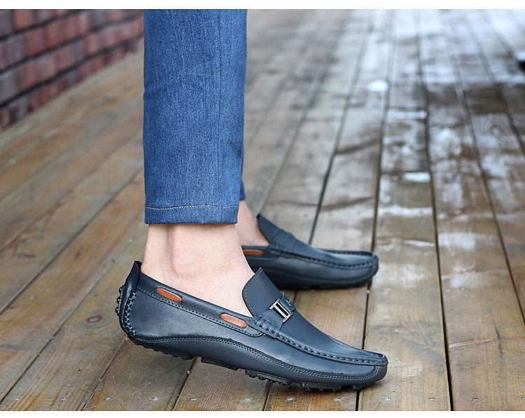HN 1128 (7) Men`s Casual Loafers Shoe