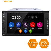 FEELDO 7 Short Case Android 6 0 Quad Core Car With GPS Navi Radio For Toyota
