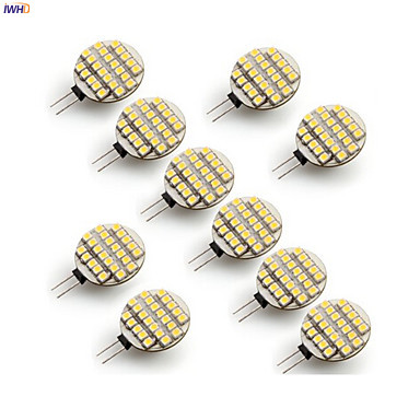 Light Bulbs Lights & Lighting Iwhd 10pcs 2w Lampada G4 Led 12v Bulb 160lm 24xsmd3528 Led G4 12v Bi-pin Lights Replace Halogen Chandeliers And Digestion Helping