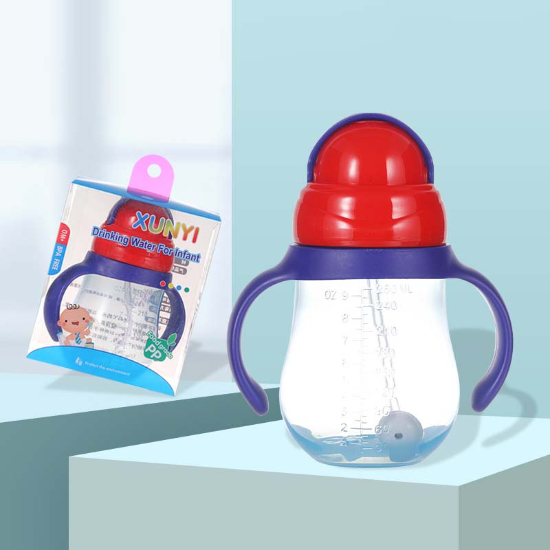 New Bottle Grip Handle For Avent Natural Standard Mouth PP Glass Feeding Bottles Milk Bottle Capacity 260ml 240ml 160ml Box