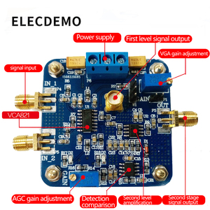 Image 2 - VCA821 モジュール電圧制御利得アンプ AGC 電子レースモジュール本物保証 350 メートル帯域幅