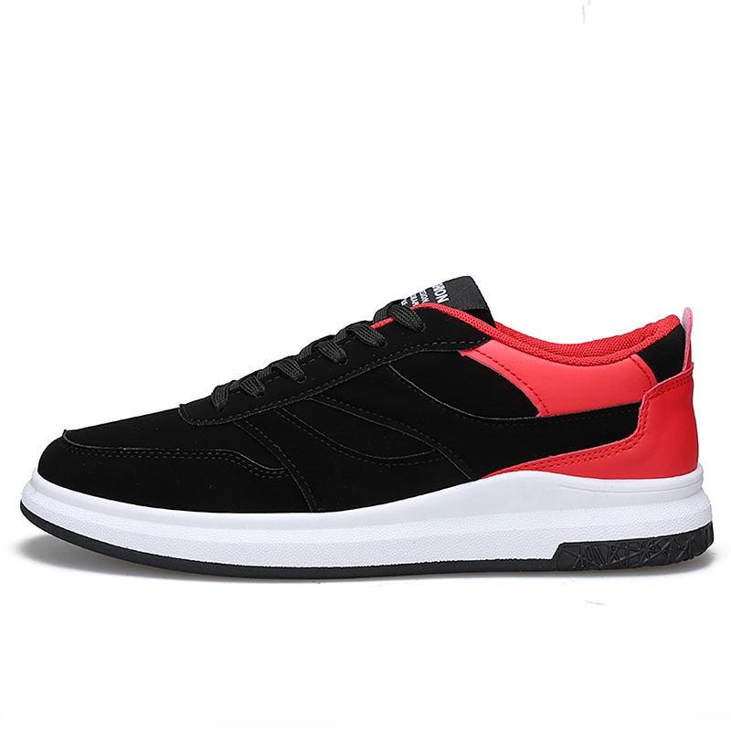 Automne black Me Krasovki Mocassins Black And Hommes Mâle Chaussures Marque Red Cuir D'hiver White Adulte De Casual black Espadrilles Luxe En wxXqY6va