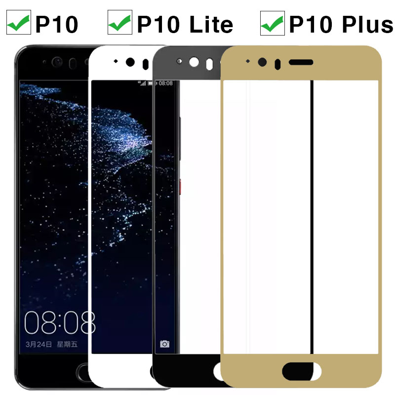 9H Protective Glass For Huawei P10 Lite Plus P10 Tempered Glass for P10lite P10Plus Huawei p10 p 10lite Screen Protector Film-in Phone Screen Protectors from Cellphones & Telecommunications