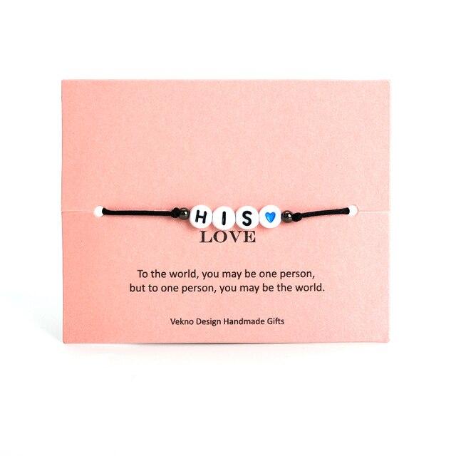 Bracelet Porte Bonheur Amour