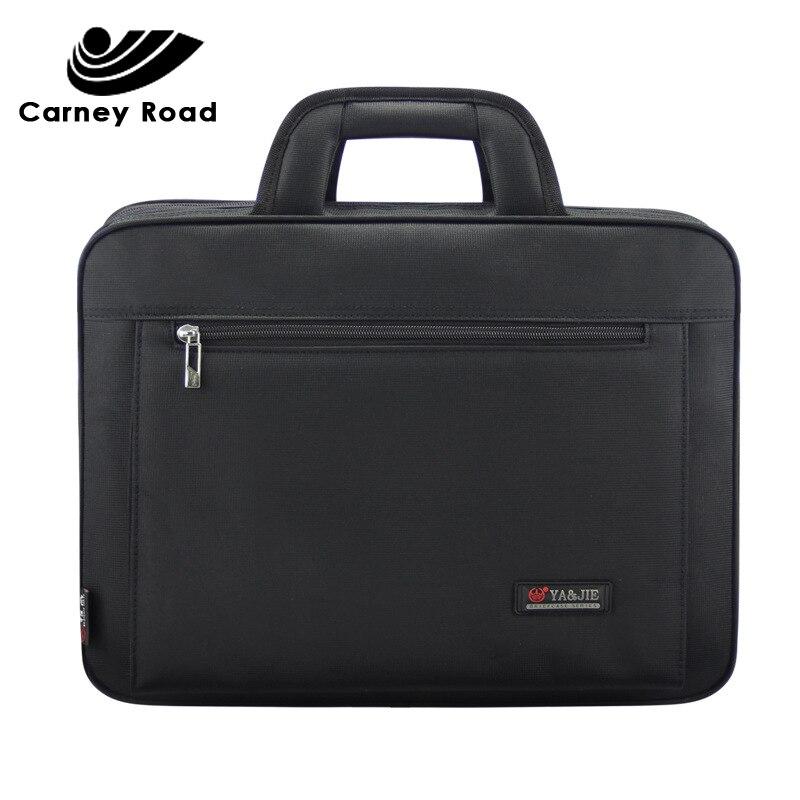 Fashion Business Men Briefcase Casual 15.6 Inch Laptop Handbag Document Office Bag For Men Messenger Shoulder Bag For Men