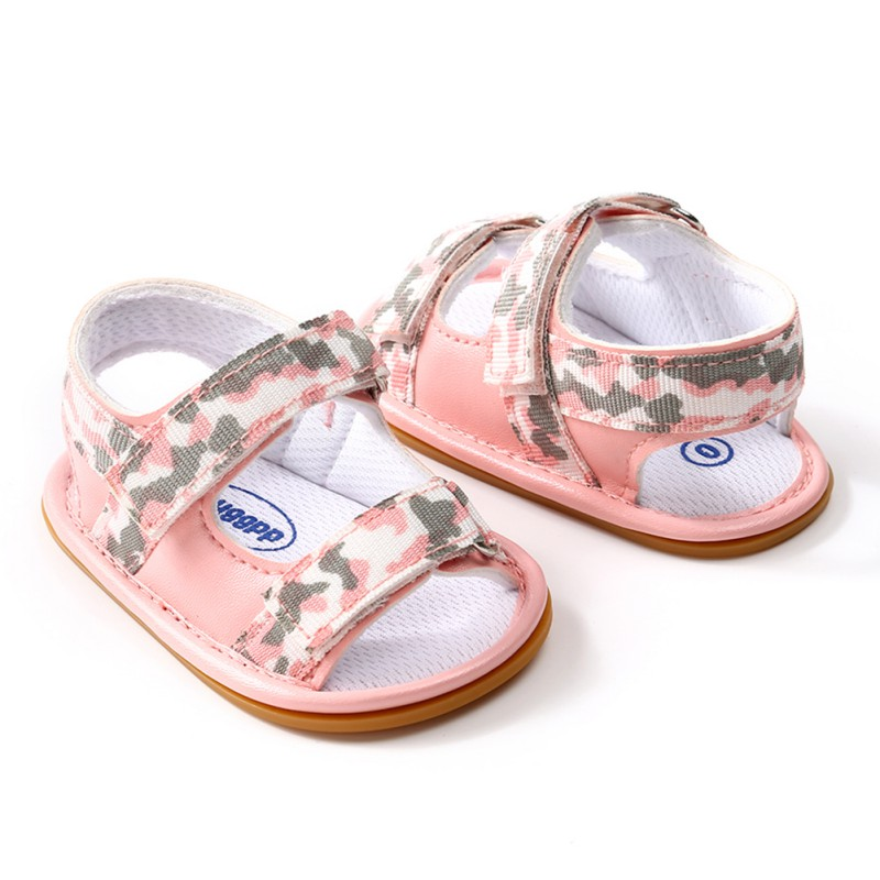 Soft Summer Baby Boy Girl Child Shoes Newborn Leisure Breathable Non-slip rubber shoes Child Fashion Camo First Walker