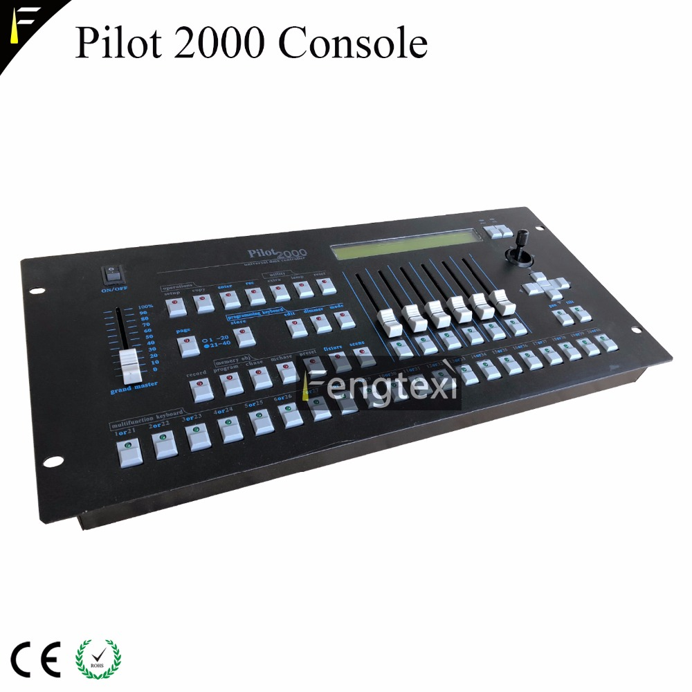 Dmx Console,dmx controller Stage light control panel Pilot 2000 Light Mixers Light Controller Panel Use For Editing Stage Lighting DJ Effect Party Disco
