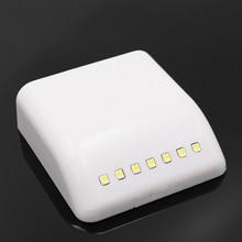 Батарея светодиодный ночник инфракрасный датчик движения из PIR светильник кухонный ящик шкаф светильник