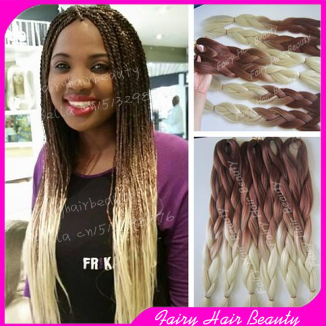 Blonde Ombre Braiding Hair | Hairstyle Inspirations 2018