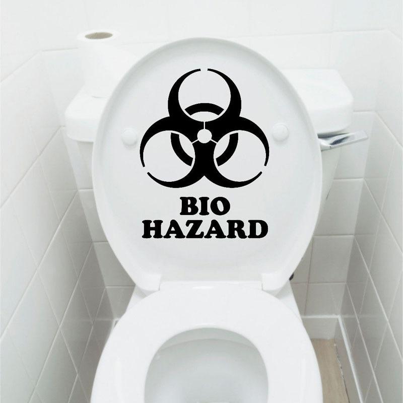 Biohazard Medical Disease Bio Hazard Stickers 0074