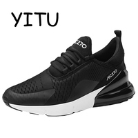 YITU Men Women Light Mesh Running Shoes Trainer Breathable Running Sneakers Outdoor Zapatillas Hombre Deportiva 270 High Quality