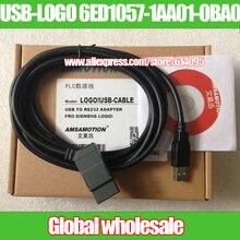 1 шт. USB-LOGO 6ED1057-1AA01-0BA0 программирования кабель для Siemens/логотип! USB-CABLE скачать USB изолированный кабель для Siemens логотип