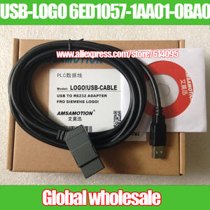 Programming-Cable Siemens Logo USB-CABLE FOR Download 6ED1057-1AA01-0BA0 1pcs