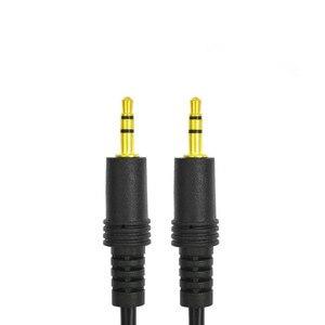 Image 3 - Kabel Audio aux jack 3.5 Stereo AUX 3.5mm kable linia łącząca pojazd z męskiego na męskie 2m/5m/10m/15m/20m pozłacane