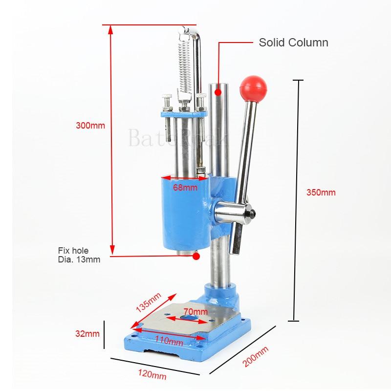 MP-1 Handmatige pers, RCIDOS HOGE kwaliteit sterke heavy-duty desktop - Houtbewerkingsmachines - Foto 3