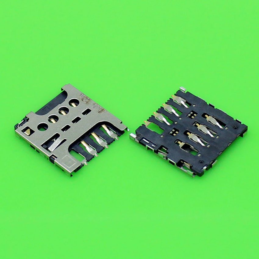 2pcs New Sim Card Reader Module Slot Tray Holder Socket For Nokia Lumia 625 Repalcement Part With Tracking Number