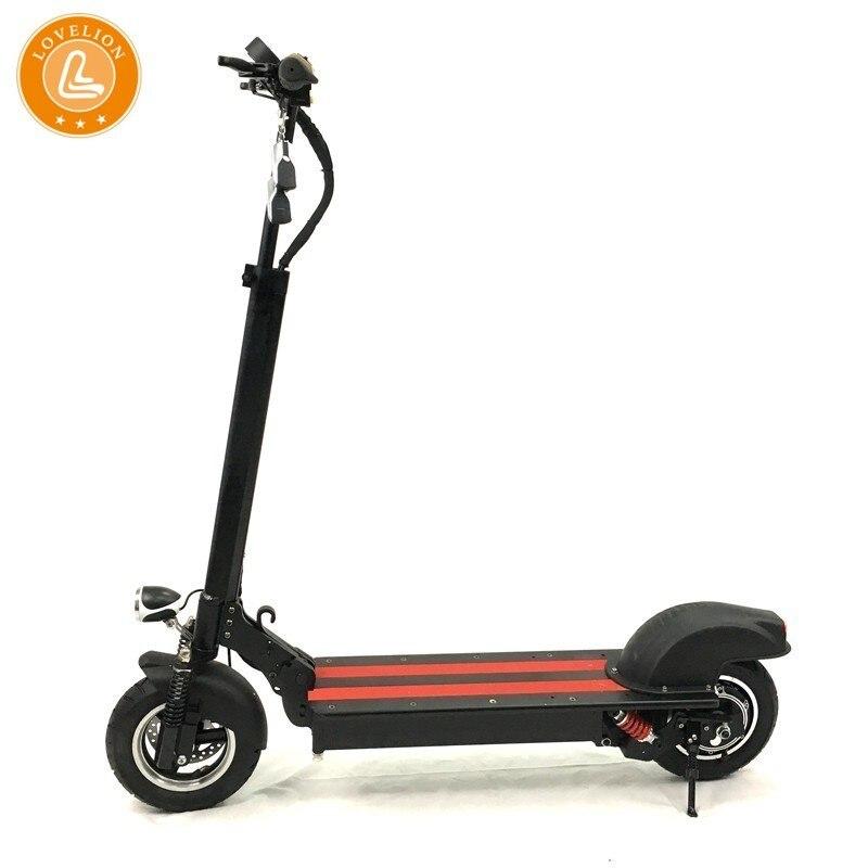 LOVELION RUIMA 2019 mini versão 48 4 à prova d' água pro scooter elétrico poderoso V 16AH e Panasonic bateria forte poder scooters