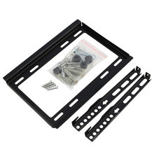 "1 Pc Slim Datar LCD LED TV Wall Bracket Gunung Pemegang rak 14 19 22 23 26 27 28 29 32 ""inch(China)"
