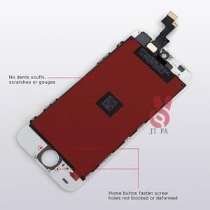 Image 4 - 10PCS כיתה + + + LCD עבור iPhone 5S LCD תצוגת מסך מגע עם digitizer עצרת החלפת Pantalla משלוח חינם DHL