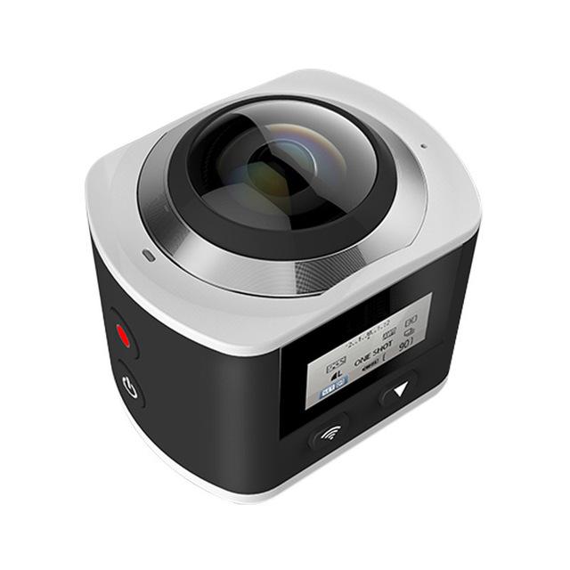 360 Câmera Panorâmica Câmera Wi-fi Mini Câmera Allwinner 4 K À Prova D' Água Esporte 3D VR Câmera Vídeos Com Go Pro Esporte Camcorder