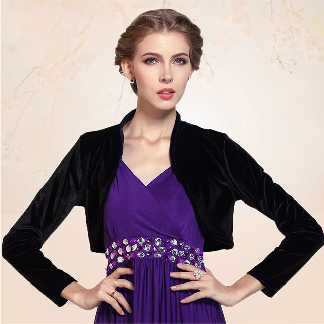 Femme Court Chauve-souris Manche Top Bolero Jersey Shrug Cardigan Long Top