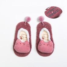 Cartoon Socks Animal Anti-Slip Newborn Baby Girls Winter Kids Boy Children Warm Thick