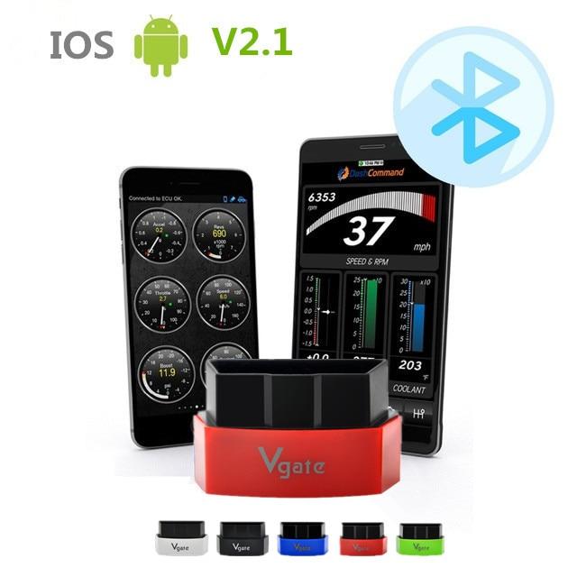 ФОТО Free Shipping Icar3 Vagte ELM327 Bluetooth OBD EOBD Icar3 Bluetooth ELM327 Diagnostics Scanner Work with Torque
