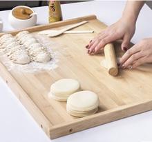 80*50 cm bambus schneidebrett Hohe qualität bambus Große panel hackklotz panel küchenmesser platte set