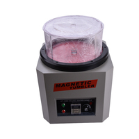Reversing Magnetic Tumbler KT 360A 110V/220V Jewelry Polishing Machine Goldsmith Tools Capacity 1300g