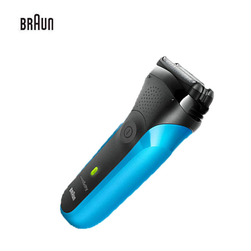 Braun Electric Shaver H310s Shaver For Men Rechargeable Safety Razor Series 3 Reciprocating Shaving Straight Razor Shaving Razor braun series 3 electric shaver 3080s electric razor blades shaving machine rechargeable electric shaver for men washable