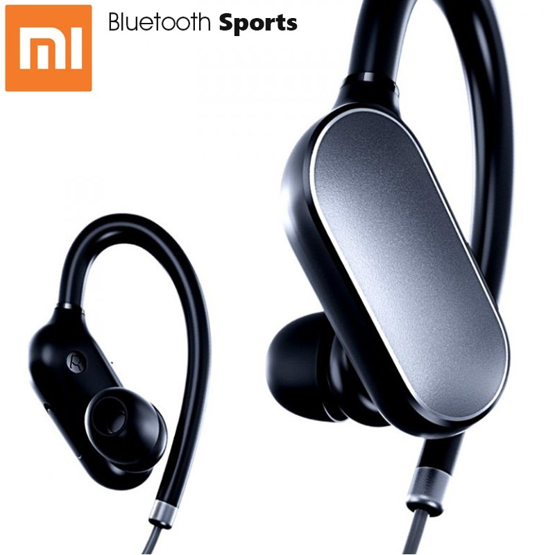 Original Xiaomi Mi Sports Bluetooth Headset Xiaomi Wireless Bluetooth 4.1 Music Sport Earphone Earbud IPX4 Waterproof headpones morul u5 plus wireless bluetooth earbud earphone bt 4 1 waterproof