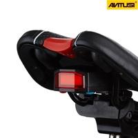 ANTUSI A6 Bicycle 4 in 1 Wireless Rear Light Cycling Remote Control Alarm Lock Mountain Bike Smart Bell COB Tailight USB Charge