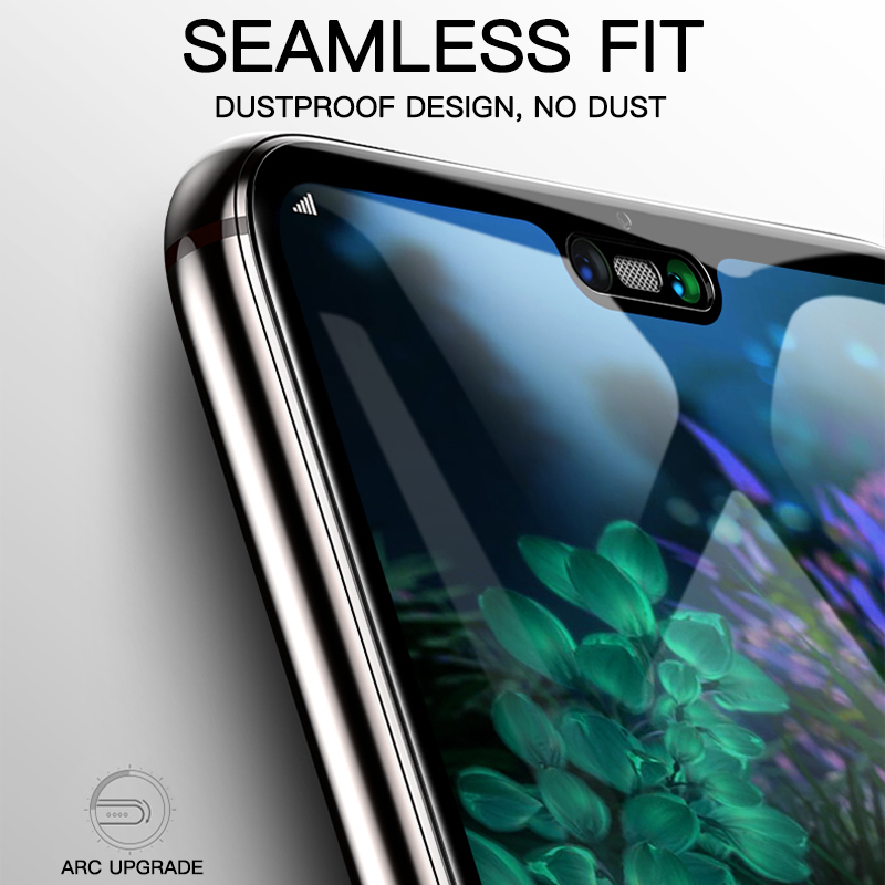 Image 3 - 3D Full Cover Tempered Glass For Huawei P20 Pro P10 Lite Plus Screen Protector For Huawei P20 Honor 10 Protective Glass-in Phone Screen Protectors from Cellphones & Telecommunications