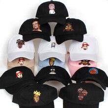 dd27234fc0f Baru Amerika Serikat Hip Hop Gimbal Ayah Topi Pria Snapback Topi Kapas %  Bisbol Cap untuk