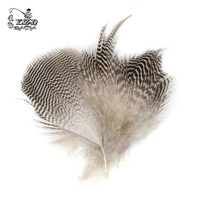 150x Natural Mallard Duck Flank Feathers 5 7cm Wild Goose Hair Lemon Wood Duck For Fly